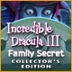 Incredible Dracula III: Family Secret Collector's Edition Game
