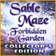 Sable Maze: Forbidden Garden Collector's Edition Game