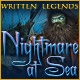 Written Legends: Nightmare at Sea Game