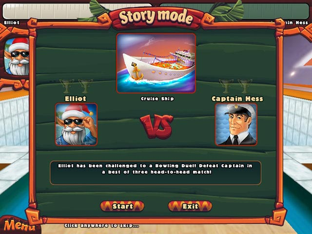 play elf bowling online