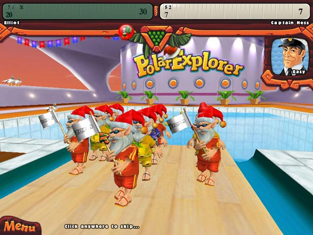 Elf Bowling: Hawaiian Vacation (free version) download for PC