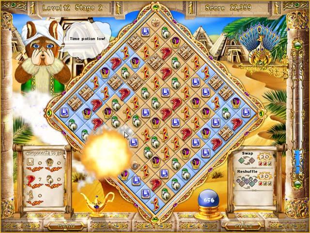 online game of magic genie journey