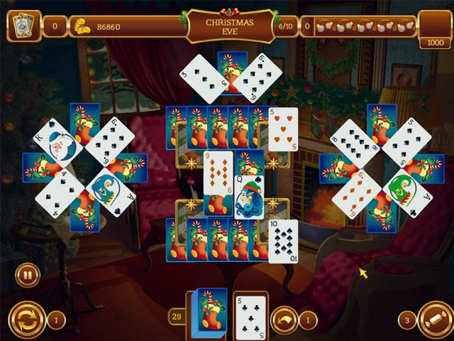 christmas solitaire games