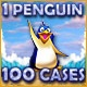 1 Penguin 100 Cases Game