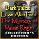 Dark Tales: Edgar Allan Poe's The Mystery of Marie Roget Collector's Edition Game