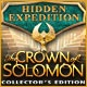 Hidden Expedition: The Crown of Solomon Collector's Edition Game