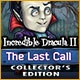 Incredible Dracula II: The Last Call Collector's Edition Game
