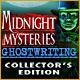 Midnight Mysteries: Ghostwriting Collector's Edition Game