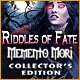 Riddles of Fate: Memento Mori Collector's Edition Game