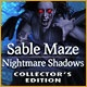 Sable Maze: Nightmare Shadows Collector's Edition Game