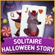 Solitaire Halloween Story Game