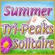 Summer Tri-Peaks Solitaire Game